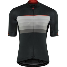 Giro Chrono Expert Trikot Herren black/red horizon